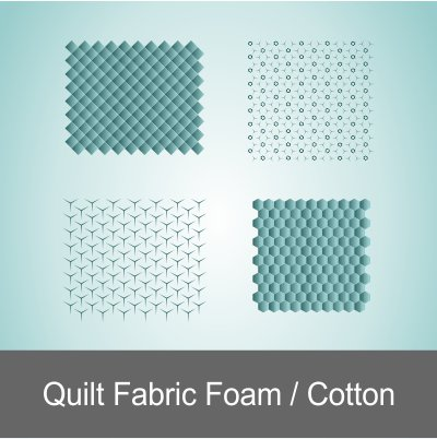 Quilt Fabric Foam And Cotton